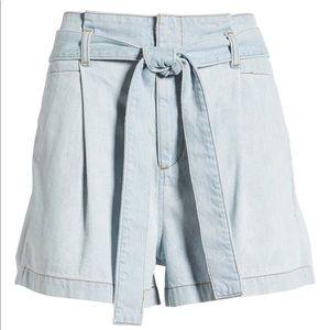 DL1961 Camile paper bag shorts Mendocino
